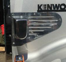 Polished Spotlight Bonnet Mounts to suit Kenworth Trucks