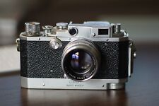 Canon Rangefinder camera with rapid winder and 50mm 1.8 lens E.P. marking