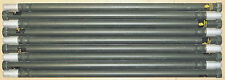 9 Stacking Aluminum 4 Ft. Mast Poles For Field Day Antennas Ribbed Camouflage