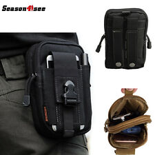 Men's Molle Waist Pack Utility Fanny Phone Pouch Belt Bag Running Outdoor Sports