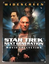 Star Trek: The Next Generation - Widescreen Movie Collection (DVD, 1999, 3-Disc…