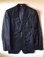 Gucci Black Cotton Suit Size 46