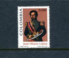 Colombia 1150, MNH, Famous People Gen. Jose Hilario Lopez 1999. x23457