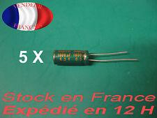 1800uF 6.3 V condensateur  X 5 capacitor  105°C