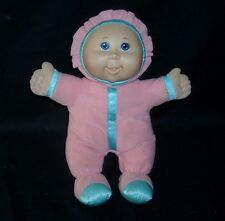 "12"" 2011 CABBAGE PATCH KIDS BABY PINK BLUE SOFT STUFFED ANIMAL PLUSH TOY DOLL"