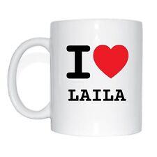 I love LAILA Tasse Kaffeetasse