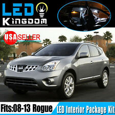 13 Pieces White LED Light Bulbs Interior Package Kit for 2008-2013 Nissan Rogue