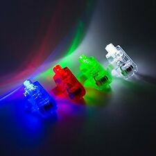 100 Pcs Anpro Super Bright LED Finger Lights Finger Flashlight Light up Toys