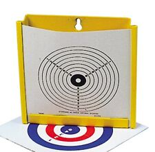 17CM BISLEY PAPER TARGET HOLDER TRAP PELLET CATCHER AIR PISTOL RIFLE GUN HUNTING