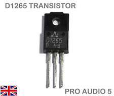 1x D1265 (2SD1265) Transistor NPN TO-220  Technics SL1200 SL1210 - UK FAST POST