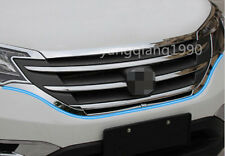 For Honda CRV CR-V 2012 2013 2014 Chrome Front Bottom Grille Grill cover trim