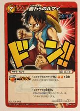 Miracle Battle Carddass One Piece Monkey D. Luffy P OP 02 Promo Normal Version