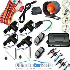 Remote Central Locking Kit And Van Alarm With Immobiliser For 4 Doors 2 sliding
