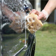 Practical Yellow Nonslip Sponge Washing Cleaner Tool for Car Auto