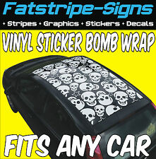 SKODA FABIA VINYL STICKER BOMB ROOF WRAP CAR GRAPHICS DECALS STICKERS 1.6 2.0