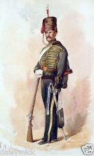 British Army 8th King's Royal Irish Hussars Soldier, 6x4 Inch Print