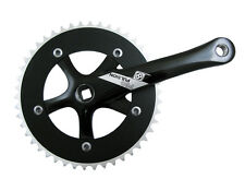 MOTORIZED BICYCLE CRANKSET OR8 P/P SS 165x46 SQ BK