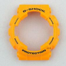 ORIGINAL CASIO G-SHOCK REPLACEMENT BEZEL for GA100A-9A GA-100A-9A, YELLOW GLOSSY