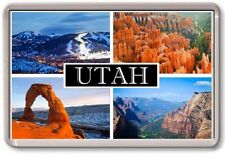 FRIDGE MAGNET - UTAH - Large - USA America TOURIST