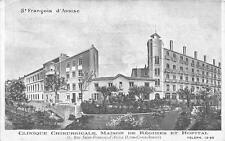 CPA 69 LYON CLINIQUE CHIRURGICALE ST FRANCOIS D'ASSISE MAISON DE REGIMES