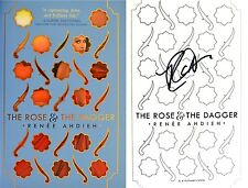 Renee Ahdieh~SIGNED~The Rose & The Dagger~1st/1st+PHOTOS! The Wrath & The Dawn