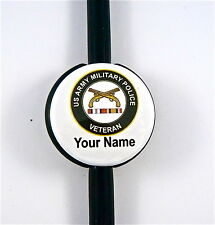 ID STETHOSCOPE NAME TAG US ARMY MILITARY POLICE VETERAN, RN,ER,NURSE,DR.TECH,