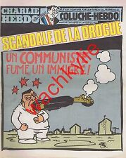 Charlie Hebdo n°536 du 18/02/1981 Communiste Drogue Immigrés Vitry Coluche