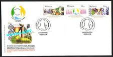 2004 Malaysia Convention Biology Diversity 3v Stamp FDC