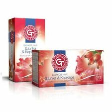 GT Natural Product Herbal Tea - Rose Hip + Hibiscus Elixir of Nature 20 Sachet