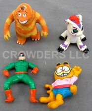 Garfield Spider-Man's Doc Ock Monsters Inc's George Alien Dragon Horse Miniature