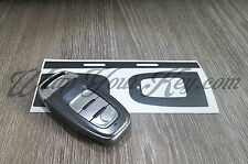 Dark Grey Metallic Key Wrap Cover Audi SMART Remote A1 A3 A4 A5 A6 A8 TT Q3 5 Q7