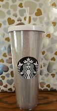 SOLD OUT Starbucks glitter cold cup 24 oz. 2016