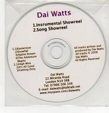 (FF273) Dai Watts, Instrumental/Song Showreel - 2008 DJ CD