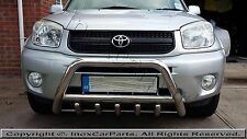 TOYOTA RAV4 AXLE BULL BAR , A-BAR FOR 2006-2009 MAKES , T304 CHROME 60MM DIA IST