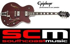 EPIPHONE EMPEROR SWINGSTER WINE RED HOLLOWBODY ELECTRIC GUITAR ETS2WRCB1