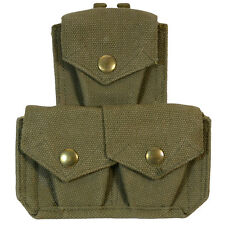 Britannique 37 Motif Sangle TRIPLE POCHETTE DE MUNITIONS Armée Military Kit