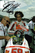 Marco Simoncelli IN PERSON SIGNED Autograph MotoGP 12x8 Photo AFTAL Dealer COA