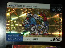 SD GUNDAM SUPER DEFORMED CARD CARDDASS PRISM CARTE 86 BANDAI JAPAN 1990 G+ EX+