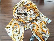 "Zara "" Sold Out "" Daisy Printed Large Pashmina Scarf BNWT"