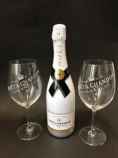 MOET Chandon Ice Imperial Champagne 0,75l 12% vol + 2 Ice Imperial bicchieri di vetro