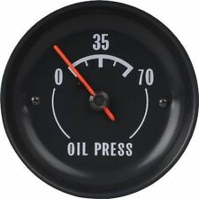1972 - 1973 Corvette Oil Pressure Gauge. New GM Restoration