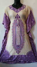 Women's Kaftan Summer Boho Dashiki  Maxi Dress Evening Party Beach Plus Size