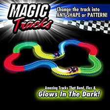 Magic Tracks The Amazing Racetrack that Can Bend Flex & Glow 11Ft As Seen on TV