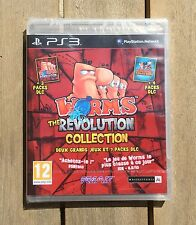 WORMS THE REVOLUTION COLLECTION Jeu Sony PS3 Playstation 3 Neuf Sous Blister VF