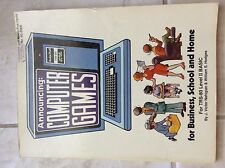 Computer Games for Business, School, and Home by Nahigian and Hodges- store#5528