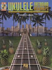 Ukelele diapasón hojas de ruta Etiqueta música Libro/cd esencial los patrones profesionales saben & Uso