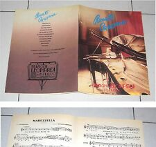 Spartiti RENATO CAROSONE Omonimo Same Successi Songbook Sheet music Best of 1989