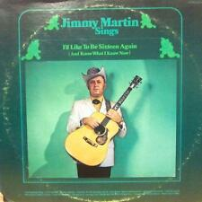 Jimmy Martin(Vinyl LP)I'd Like To Be Sixteen Again-Decca-DL 75343-US-VG/Ex