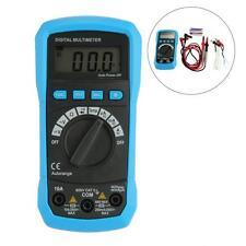 Auto Range Digital Multimeter Temperature Probe LCD Display Backlight Portable