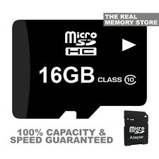 16GB TF FLASH MICRO SD HC Class10 Memory Card per Dash Cam videocamera auto SCATOLA NERA